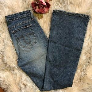Aeropostale Jeans Flare Leg Size 9/10 R